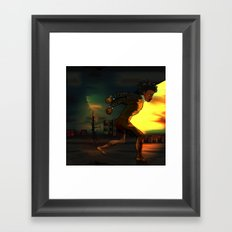 Something About Adwelle Framed Art Print