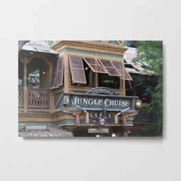 Jungle Cruise Metal Print