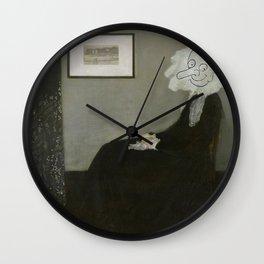 Whistler's Mother - Mr. Bean Wall Clock