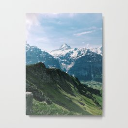 Mount First Metal Print
