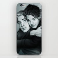 stucky iPhone & iPod Skins featuring Everlasting Love by Anne the Viking