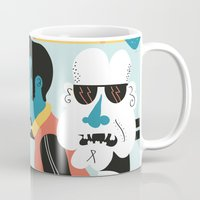 brussels Mugs featuring Ordinary day in brussels by Dr ponce