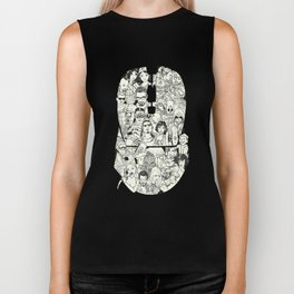 Adulthood - Mashup Biker Tank