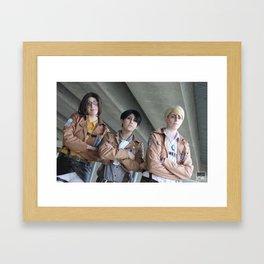20151024 EruRiHan, Top of the Class Framed Art Print