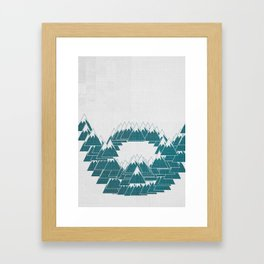 Hemingway Beard Framed Art Print
