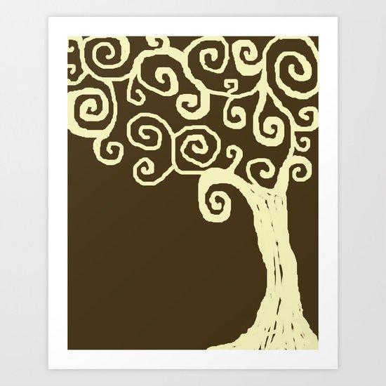 Jude's Tree Art Print