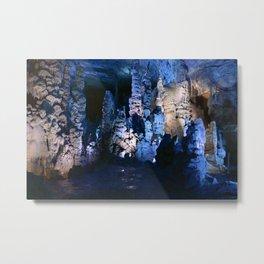 Cathedral Cavern Metal Print