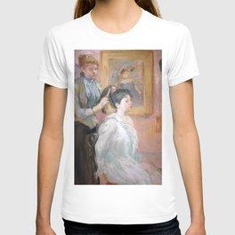 La Coiffure by Berthe Morisot T-shirt