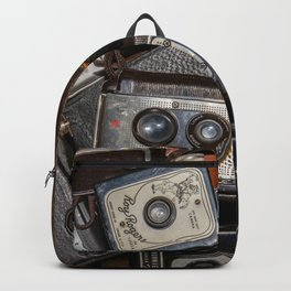 A Mess Of Old Cameras 2 Backpack