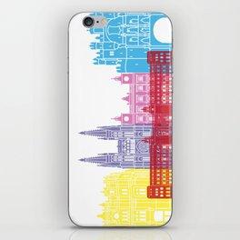 Burgos skyline pop iPhone Skin