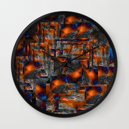 red oxides Wall Clock