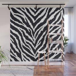 Zebra fur texture Wall Mural