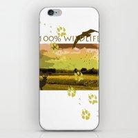 wildlife iPhone & iPod Skins featuring Wildlife by Sergio Silva Santos