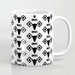 aries astrology pattern Coffee Mug