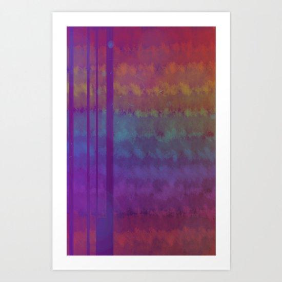 Wicker v.3 Art Print