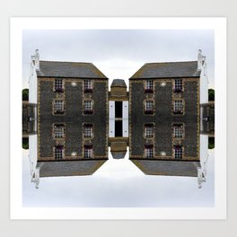 Architectural Illustration Art Print