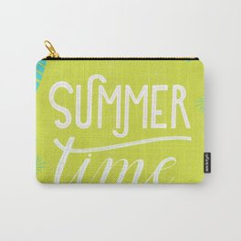 Summer time tropical illustration Carry-All Pouch
