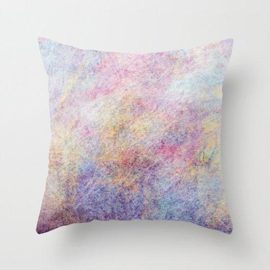 Soft Storm Throw Pillow