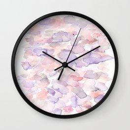 150725 My Happy Bubbles 24 Wall Clock