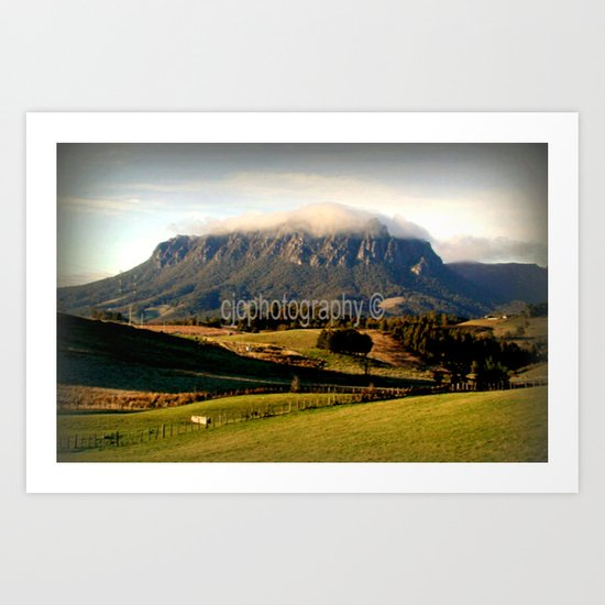 Mt. Roland ~ Tasmania Art Print