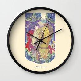 I Found You Wall Clock