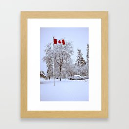 Ô Canada Framed Art Print