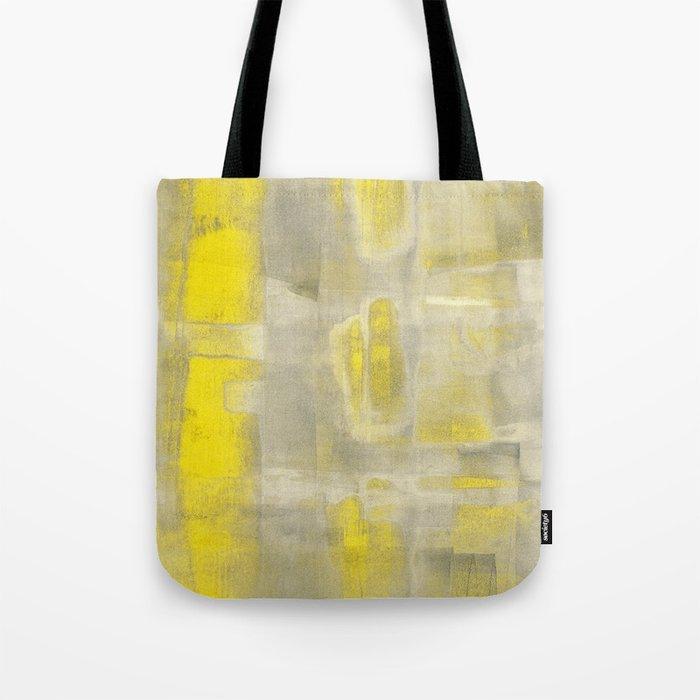 Stasis Gray & Gold 2 Tote Bag