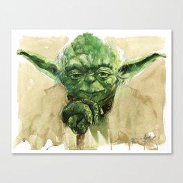 Master Yoda Canvas Print