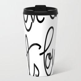 I love cats, cats love me Travel Mug
