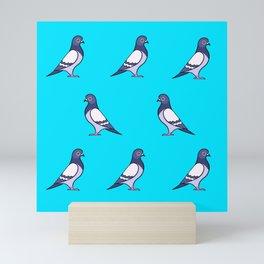 Pigeons Mini Art Print