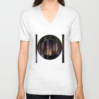 metal V-neck T-shirts featuring metal world  by VanessaGF