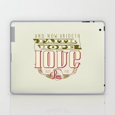 The Greatest of These Is Love (Color Variant)  Laptop & iPad Skin