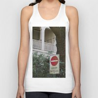 bicycles Tank Tops featuring Except Bicycles by RMK Creative