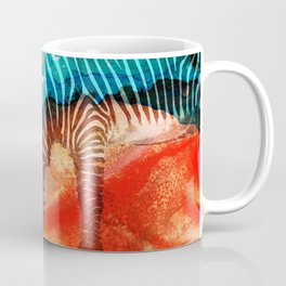 Zebra Love - Art By Sharon Cummings Coffee Mug
