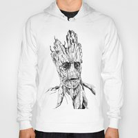groot Hoodies featuring Groot by Giorgia Ruggeri