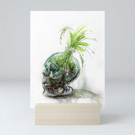 Plant in a Bottle Mini Art Print