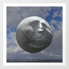 Sneer Sphere Art Print