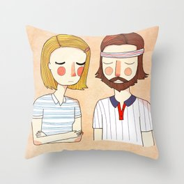 Secretly In Love Throw Pillow