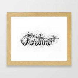 Fortuna / Fortune Framed Art Print