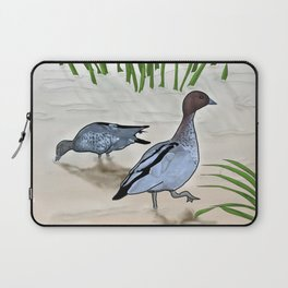 Australian Wood Duck Laptop Sleeve