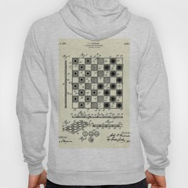Checker and Chess Board-1923 Hoody