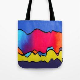 CALIFORNIA WAVE Tote Bag