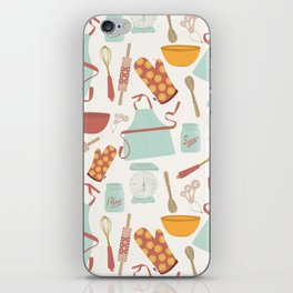 Vintage Kitchen iPhone Skin
