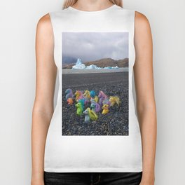 My Little Sea Ponies in Patagonia Biker Tank