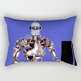Bender-nator Rectangular Pillow