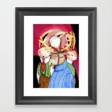 Fools' King Framed Art Print
