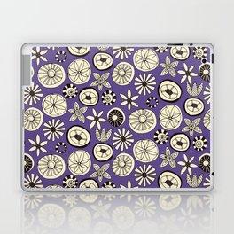 summer flowers purple Laptop & iPad Skin