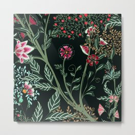 Collection Indian Floral - Hero Pattern Metal Print