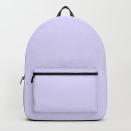 Solid Light Lilac Backpack