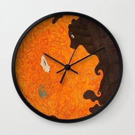 Hairy Beary Wall Clock